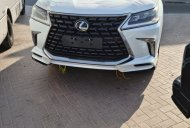 Bán Lexus LX570 MBS 2021 Bản 4 Ghế Vip Massage có bệ đỡ chân, xe màu trắng nội thất da bò giá 9 tỷ 100 tr tại Hà Nội