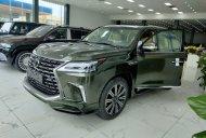 Cần bán Lexus LX 570 sản xuất 2021, màu xanh lục, nhập khẩu giá 9 tỷ 100 tr tại Hà Nội