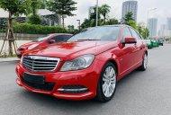 Cần bán gấp Mercedes C250 đời 2012, màu đỏ, xe nhập giá 585 triệu tại Hà Nội