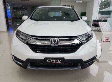 Bán ô tô Honda CR V G đời 2020, màu trắng, xe nhập, giá cạnh tranh