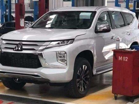 Mitsubishi Pajero Sport 2020 bất ngờ lộ diện trước thềm ra mắt