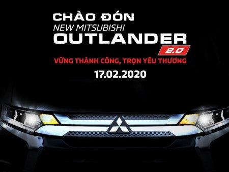 """Mitsubishi Outlander 2020 chốt ngày ra mắt, tặng quà """"khủng"""" cho khách hàng"""