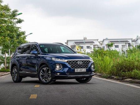 Hyundai Santa Fe - ông vua mới phân khúc SUV 7 chỗ