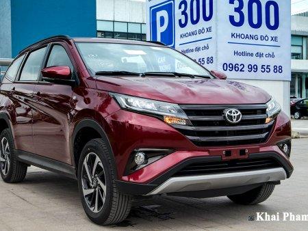 Giá lăn bánh Toyota Rush sau điều chỉnh giá niêm yết