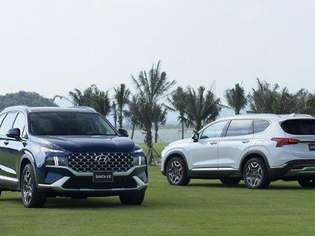 So sánh thông số bản cao nhất của 2 mẫu SUV 7 chỗ ăn khách Hyundai Santa Fe - Kia Sorento